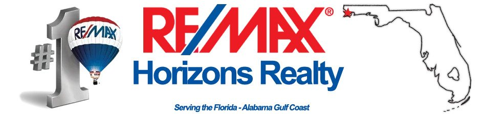 Remax Horizons Realty Logo of Florida and Alabama Gulf Coast